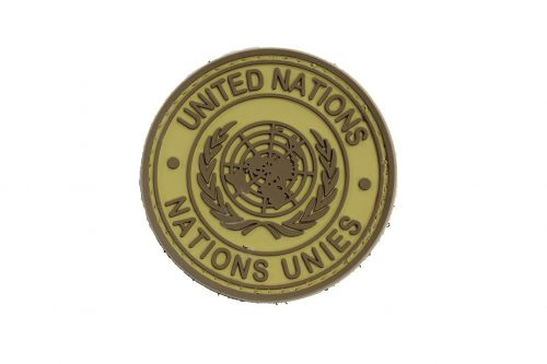 United Nations Nations Unies (TAN) Morale Patch