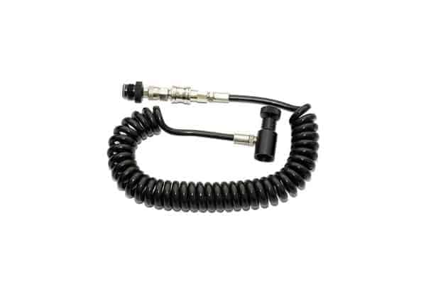 Valken Remote coil HPA hose line with quick disconnect