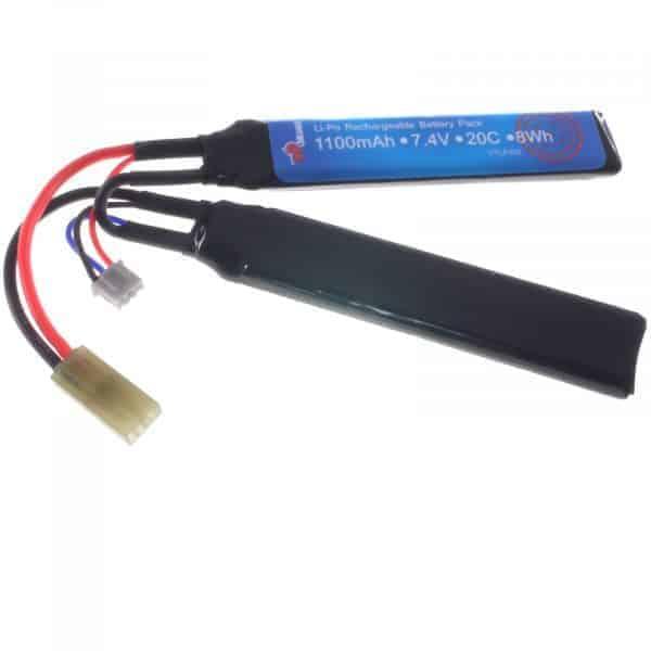 Vapex 7.4v 1100mAh crane stock battery 20C