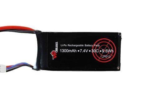 Vapex 7.4V 1300MAH 30C LiPO battery - Mini