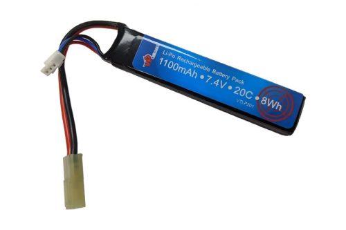 Airsoft 7.4v Battery Li-Po or Li-Ion