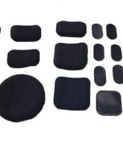 Oper8 complete helmet pad and velcro set