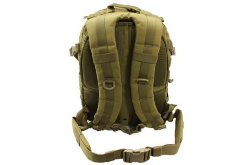 WBD Large travelling rucksack with support - Coyote