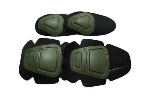 Oper8 Tactical Frog Knee and Elbow pads - OD Green