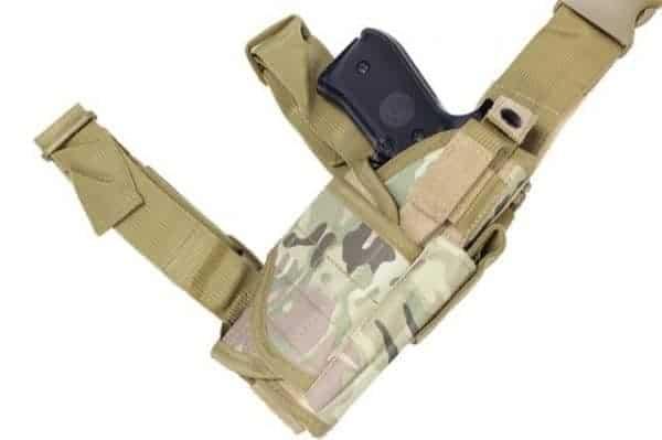 WBD Adjustable Right Handed Drop Leg Holster