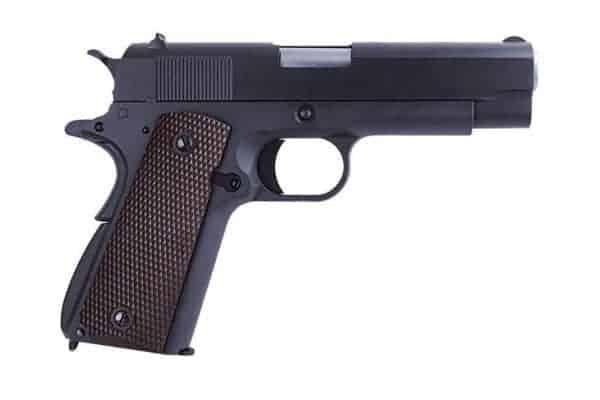 WE M1911 'Commander' Full Metal Airsoft Gas Blowback Pistol