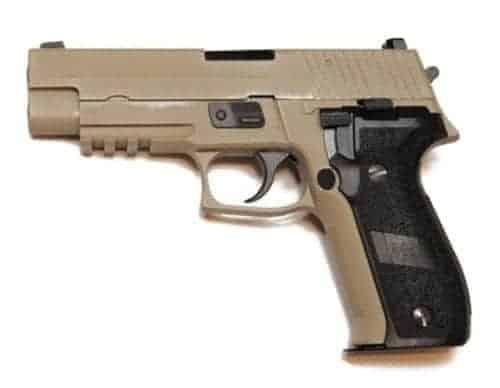 WE f226 / P226 GBB with Rail MK25 (Tan)