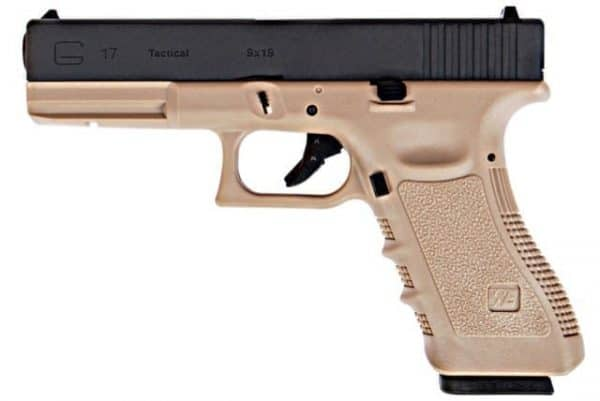 WE G17 Gas Blowback (Tan)
