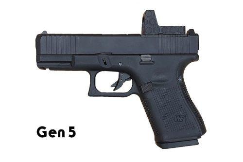 WE G19 Gas Blowback Gen 5 - Dummy RMR (Black)