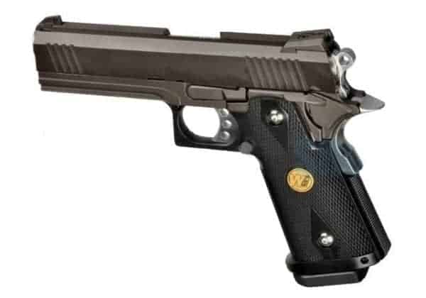 WE Hi-Capa 4.3 GBB Pistol (Black)