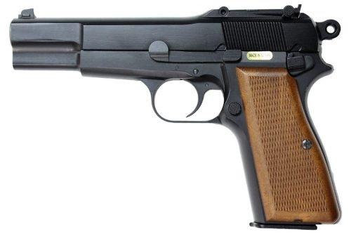 WE Browning Hi-Power GBB Pistol - Black