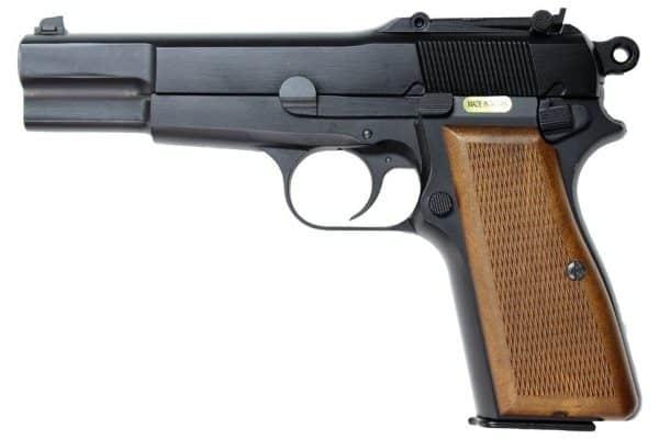 WE Browning Hi-Power GBB Pistol - Black