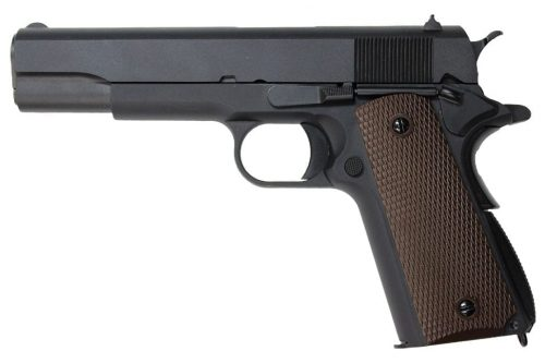 WE Classic 1911 Gas Blowback Pistol - Black