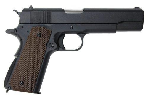 WE Classic 1911 Gas Blowback Pistol - Black