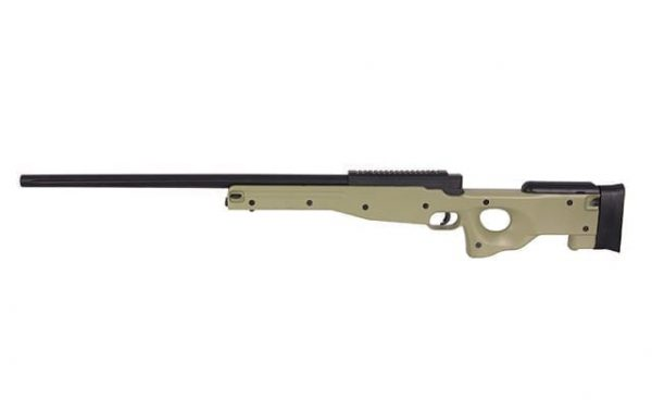 well mb01 coyote Well MB01 Warrior L96 with steel internals - Tan
