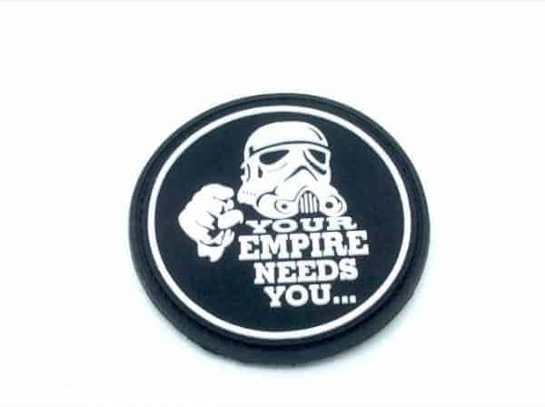 'Your empire needs you' stormtrooper star wars patch (Black)