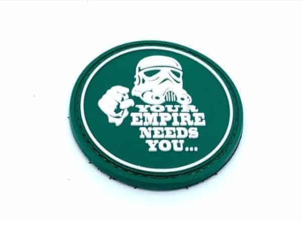 'Your empire needs you' stormtrooper star wars patch (Green)