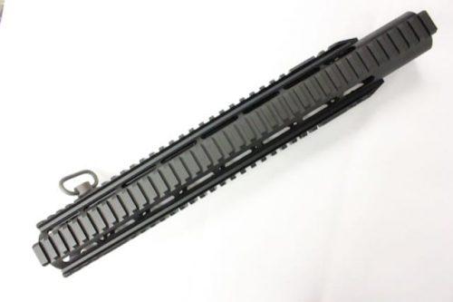 "ZCI Keymod CNC aluminium with rails & sling loop 15"""