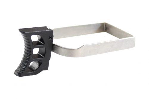 ZCI CNC Aluminium trigger and bar for Marui Hi Capa (Black)