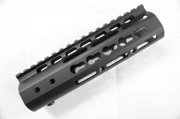 "ZCI KeyMod CNC Aluminium Handguard 7"""