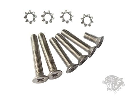 ZCI Screw set for v3 gear box - Stainless