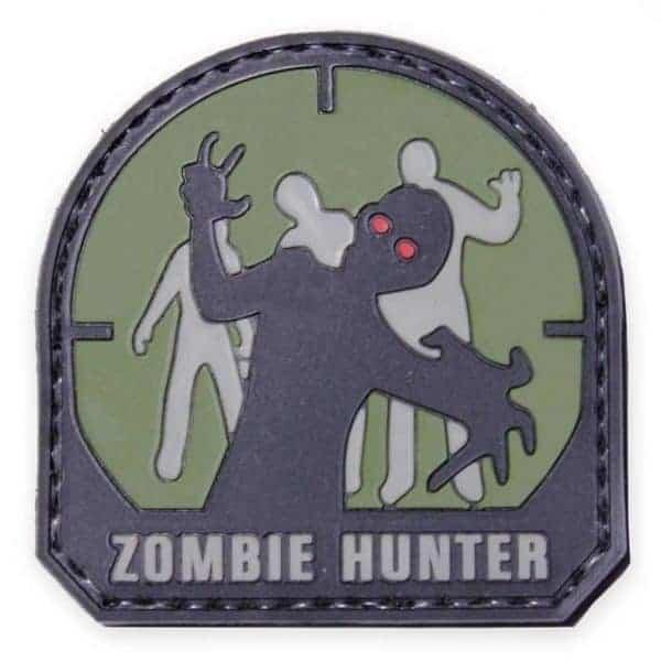 Zombie Hunter morale patch (Black)