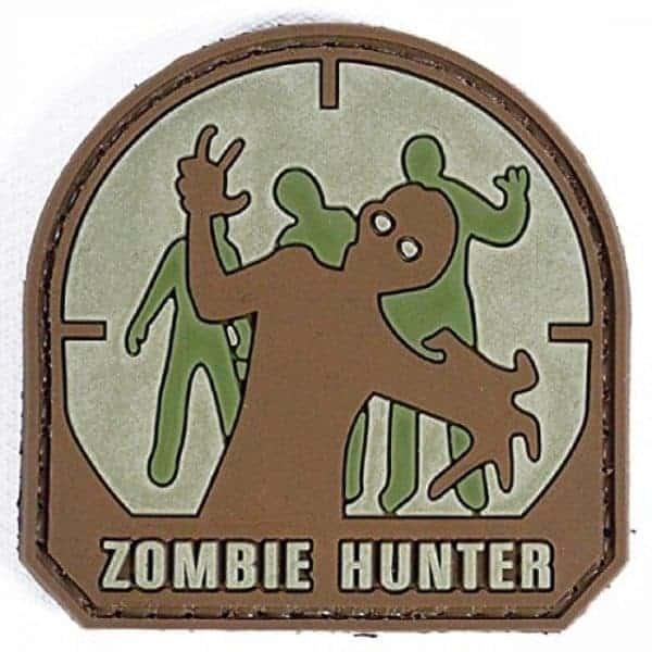 Zombie Hunter morale patch (Tan)