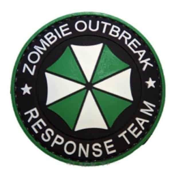 Umbrella: zombie outbreak response team patch (Green)