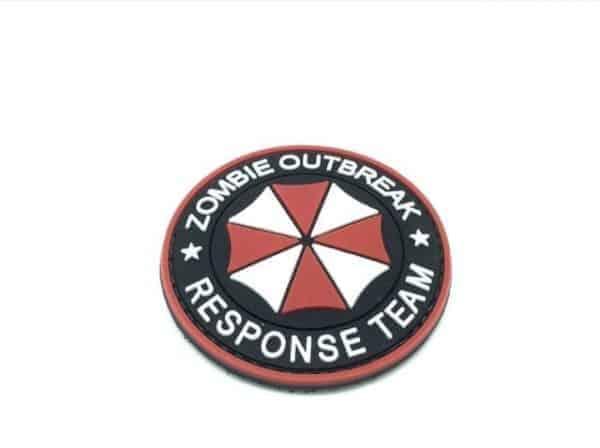 Umbrella: zombie outbreak response team patch (Red)